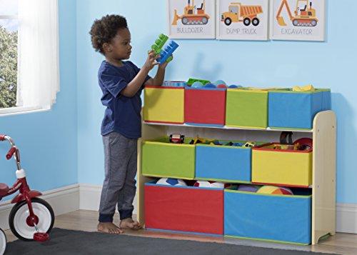 Delta-Children-Deluxe-Multi-Bin-Toy-Organizer-with-Storage-Bins-WhitePink-0-0
