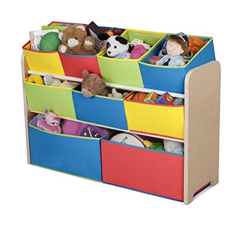 Delta-Children-Deluxe-Multi-Bin-Toy-Organizer-with-Storage-Bins-WhitePink-0-1