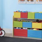 Delta-Children-Deluxe-Multi-Bin-Toy-Organizer-with-Storage-Bins-WhitePink-0-2