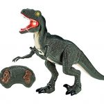 Dino-Planet-Remote-Control-Velociraptor-RC-Walking-Dinosaur-Toy-with-Shaking-Head-Light-Up-Eyes-and-Sounds-0