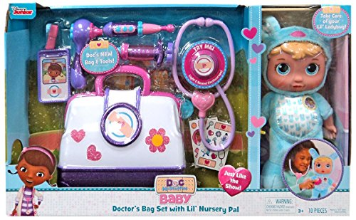 Disney Baby Doctor S Bag Set With Lil Nursery Pal Playset