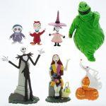 Disney-Parks-Exclusive-Jack-Skellington-Nightmare-Before-Christmas-7-Pc-Figurine-Playset-0