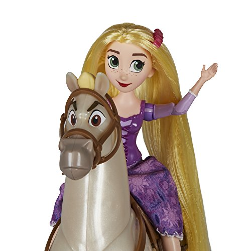 Disney Tangled The Series Rapunzel And Royal Horse Maximus