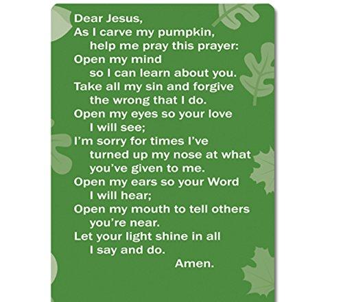 Dozen-Pumpkin-Prayer-Silicone-Bracelets-Cards-0-1