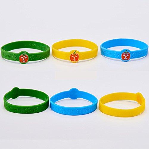 Dozen-Pumpkin-Prayer-Silicone-Bracelets-Cards-0