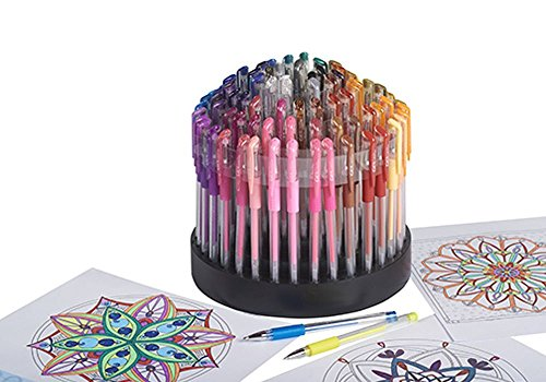 ECR4Kids-GelWriter-Gel-Pens-Set-Premium-Multicolor-in-Rotating-Stand-100-Count-0-0