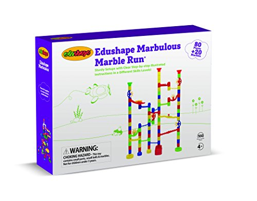 Edushape Marbulous Marble Run 100 Piece Hobby Leisure Mall