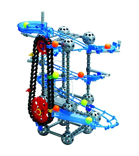 Toy Building Set For Boys : Edushape motorized marble run set with elevator for kids