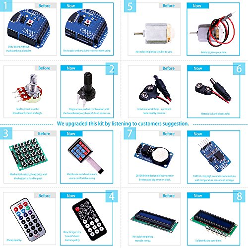 Elegoo Mega 2560 Project The Most Complete Ultimate Starter Kit w/ TUTORIAL  for Arduino Mega2560 UNO Nano | Hobby Leisure Mall