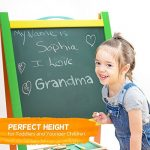 Elk-Bear-Double-Sided-Magnetic-Whiteboard-Painting-Easel-for-Small-Kids-and-Toddlers-0-1