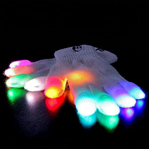 Christmas Lights Shark Tank: Emazing Lights ELite Chroma CTRL LED Gloves, 5 Light