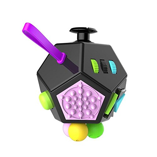 Fidget-Dice-Relieves-Stress-Toys-Anti-Stress-Autism-ADHD-For-Children-Adult-Cube-Gift-Black-and-Purple-0-0