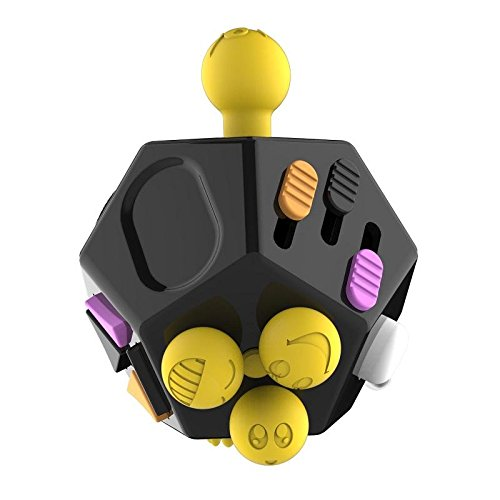 Fidget-Dice-Relieves-Stress-Toys-Anti-Stress-Autism-ADHD-For-Children-Adult-Cube-Gift-Black-and-Purple-0-3