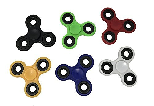 Fidget-Hand-Spinners-50-PC-Color-Bundle-Bulk-EDC-Tri-Spinner-Desk-Toy-Stress-Anxiety-Relief-ADHD-Student-Relax-0