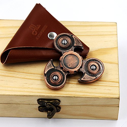 Fidget-Spinner-Metal-Alquar-Ancient-Eagle-Pure-Copper-Tri-Hand-Spinner-Customized-Professional-Spinner-Bearing-Quiet-Smooth-Spin-Luxury-Wooden-GiftBox-Set-0-5