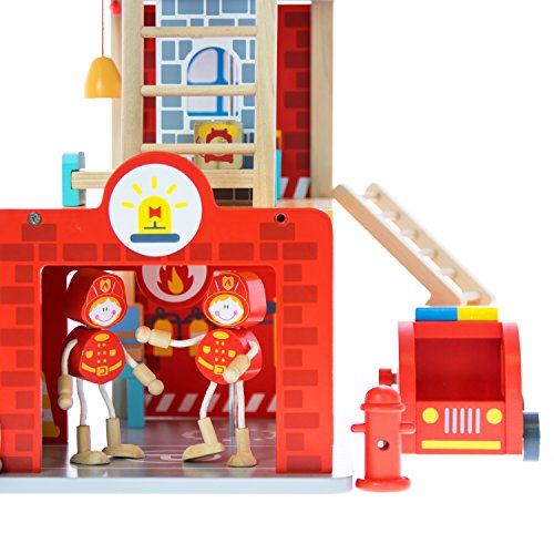 Fire Station Playset And Fire Truck Premium Doll Houses
