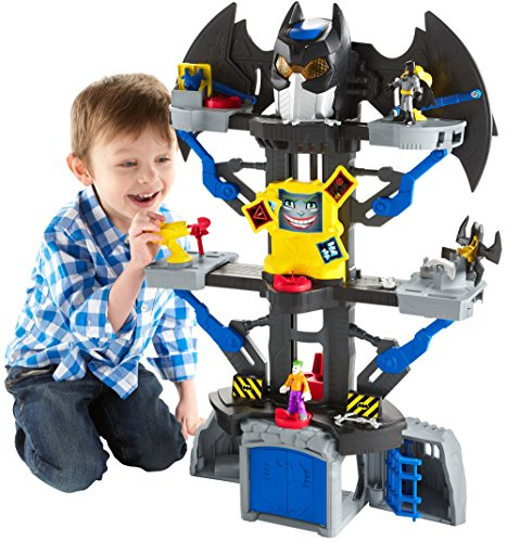 Fisher-Price-Imaginext-DC-Super-Friends-Transforming-Batcave-0