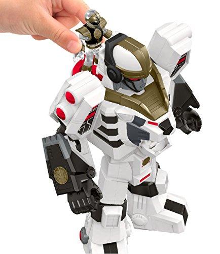 Fisher-Price-Imaginext-Power-Rangers-White-Ranger-Warrior-Mode-Tigerzord-0-0