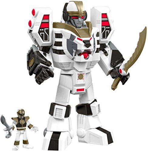 Fisher-Price-Imaginext-Power-Rangers-White-Ranger-Warrior-Mode-Tigerzord-0-1