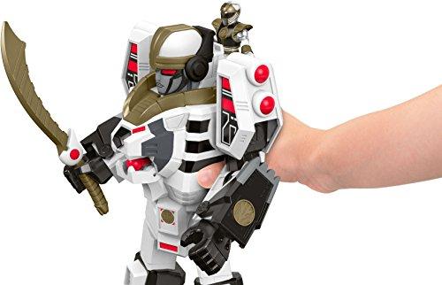 Fisher-Price-Imaginext-Power-Rangers-White-Ranger-Warrior-Mode-Tigerzord-0-2