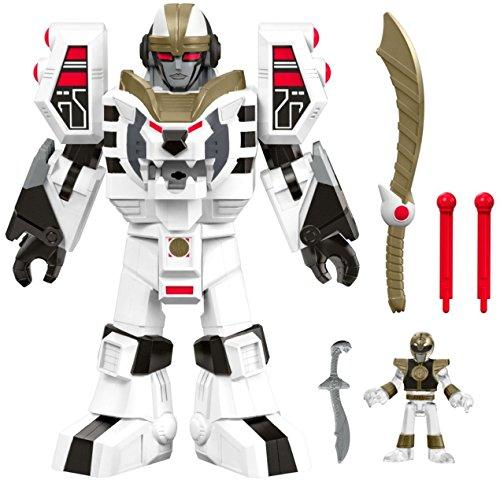 Fisher-Price-Imaginext-Power-Rangers-White-Ranger-Warrior-Mode-Tigerzord-0