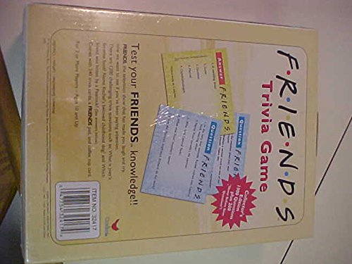 Friends Trivia Game   Hobby Leisure Mall