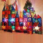 FunEdu-Magnetic-Tile-100-piece-pcs-set-Super-Strong-Magnet-2-Wheel-Bases-4-Windows-Building-Blocks-Toy-for-Kids-toddlers-creativity-imagination-0-0