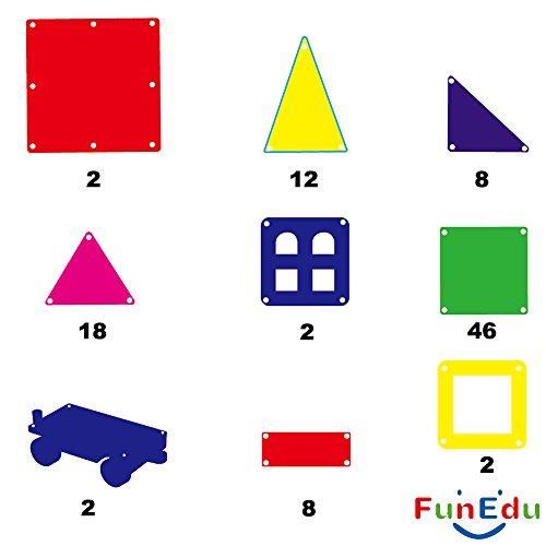FunEdu-Magnetic-Tile-100-piece-pcs-set-Super-Strong-Magnet-2-Wheel-Bases-4-Windows-Building-Blocks-Toy-for-Kids-toddlers-creativity-imagination-0-1
