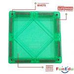FunEdu-Magnetic-Tile-100-piece-pcs-set-Super-Strong-Magnet-2-Wheel-Bases-4-Windows-Building-Blocks-Toy-for-Kids-toddlers-creativity-imagination-0-2