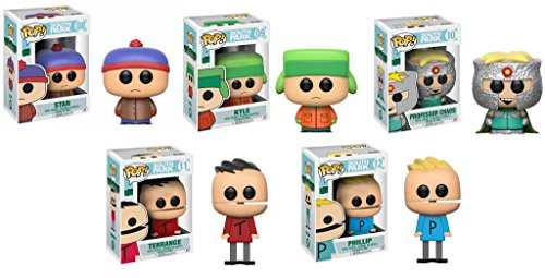 Funko Pop South Park Wave 2 Set Of 5 Stan Professor