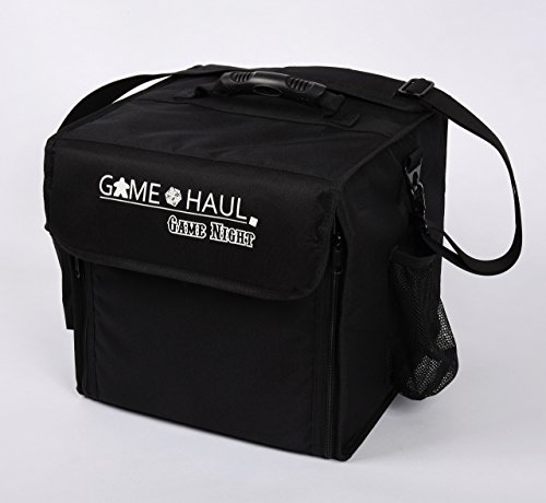 Game Haul Game Night Padded Board Game Carrying Bag With