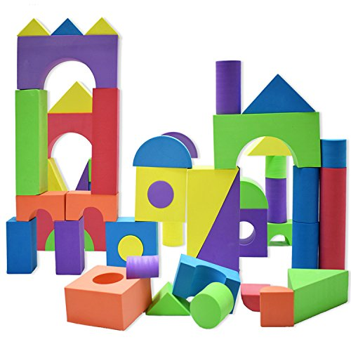 Giant foam building blocks building toy for girls and for Foam blocks building construction