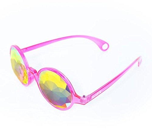 GloFX-Transparent-Pink-Kaleidoscope-Glasses–Rainbow-Fractal–Flat-Back-0-2
