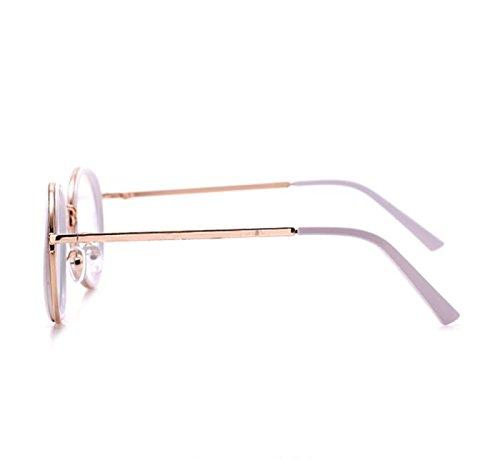 GloFX-White-Ivory-Vintage-Metal-Kaleidoscope-Glasses–Rainbow-Bug-Eye–Flat-Back-0-1