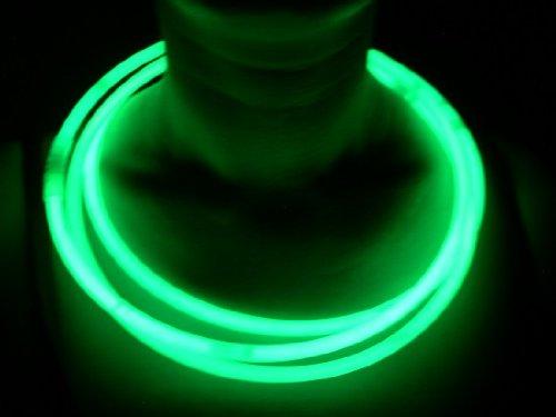 Glow Sticks Bulk Whole Necklaces 100 22 Green