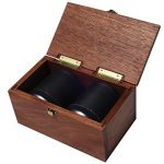 Golden-Gate-Dice-Cup-Set-of-Two-in-Walnut-Presentation-Case-Includes-Ten-White-Dice-and-a-Book-of-Dice-Games-Includes-Liars-Dice-0-0