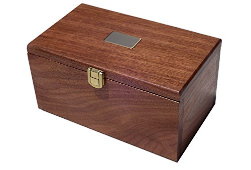 Golden-Gate-Dice-Cup-Set-of-Two-in-Walnut-Presentation-Case-Includes-Ten-White-Dice-and-a-Book-of-Dice-Games-Includes-Liars-Dice-0-1