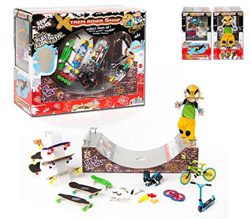 GripTricks-XTREM-SHOP-BIG-GIFT-SET-OF-with-FINGER-SCOOTER-STUNT-FINGER-SKATES-ROLLER-BMX-SCOOTER-RAMPS-0