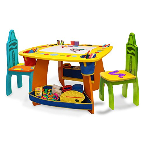 Grown-Up-Crayola-Wooden-Table-Chair-Set-0