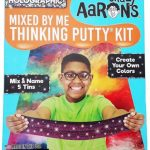 HOLOGRAPHIC-Sparkle-Mixed-By-Me-Kit-Crazy-Aarons-Illusions-Thinking-Putty-Age-8-0