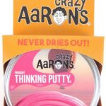 HOT-PINK-Primary-Color-Crazy-Aarons-Thinking-Putty-Toy-LARGE-4-Tin-32oz-0