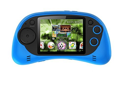 Handheld-Portable-Digital-Screen-200-Preloaded-Games-27-Color-Display-BLUE-0