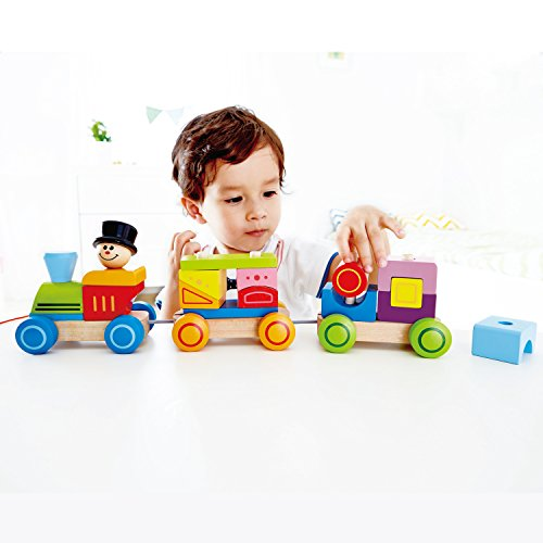 Hape-Happy-Train-Stacking-Blocks-Toddler-Pull-Along-Toy-Amazon-Exclusive-0-2