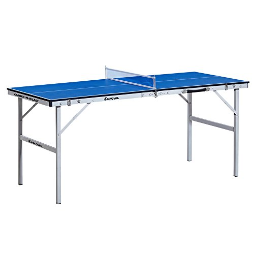 Harvil 60 inch folding portable table tennis table with for 0 60 table