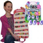Hatchimals-CollEGGtibles-4-Pack-with-Compatible-EASYVIEW-Toy-Storage-Organizer-Case-Bundle-Pink-0