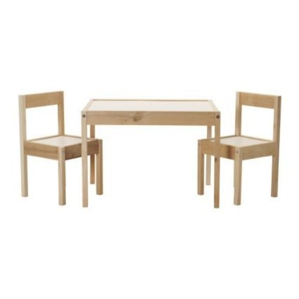 IKEA-Childrens-Kids-Table-2-Chairs-Set-Furniture-0