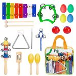 INNOCHEER-Musical-Instruments-Xylophone-Set-for-Kids-ASTM-Certified-FDA-Approved-Toddler-Wooden-Percussion-Toy-0-0