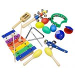 INNOCHEER-Musical-Instruments-Xylophone-Set-for-Kids-ASTM-Certified-FDA-Approved-Toddler-Wooden-Percussion-Toy-0-2