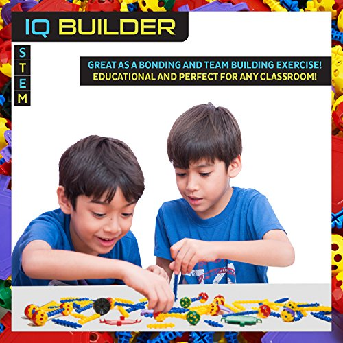 Toy Building Set For Boys : Iq builder stem learning toys creative construction