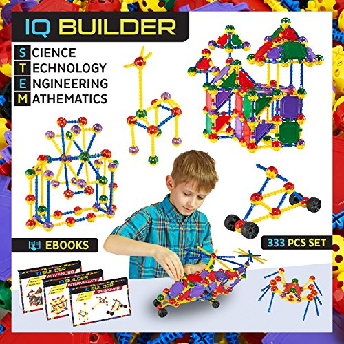Cool Building Toys For Boys : Iq builder stem learning toys creative construction